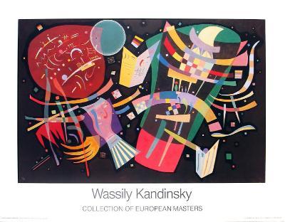 Komposition X, 1939-Wassily Kandinsky-Art Print