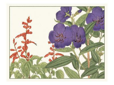 Japanese Flower Garden VI
