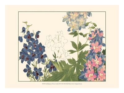 Small Japanese Flower Garden III