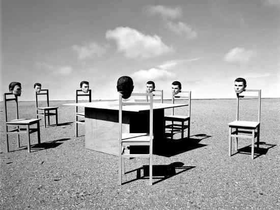 Konferenzen 6, 2015-Jaschi Klein-Photographic Print