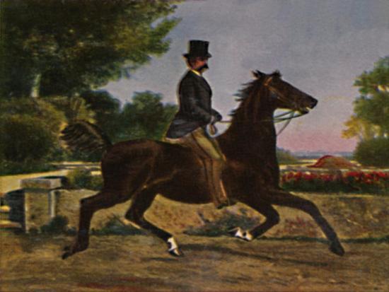 'Konig Humbert I. von Italien 1844-1900. - Gemälde von Palizzi', 1934-Unknown-Giclee Print