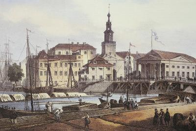 Konigsberg City and Port in 1850--Photographic Print