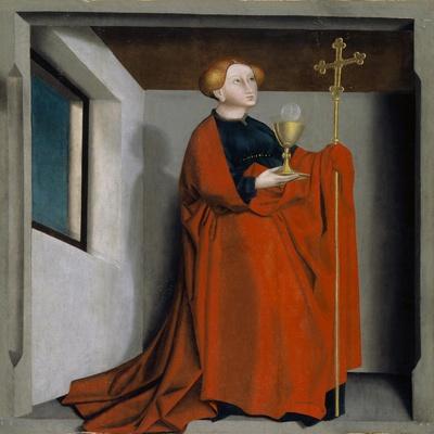 Ecclesia from the Heilspiegel Altarpiece, c.1435