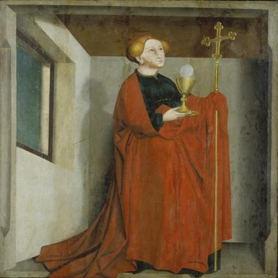 Ecclesia (Heilsspiegelaltar, Exterior Wing), C. 1435