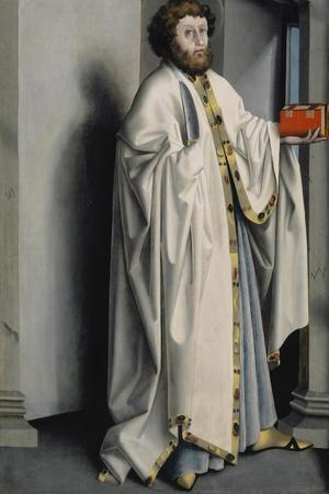 Saint Bartholomew from the Heilspiegel Altarpiece, c.1435