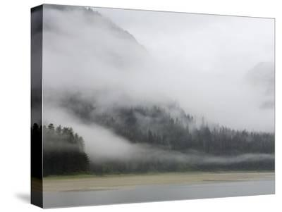 Clouds and Mist over Forest, Admiralty Island National Monument, Inside Passage, Alaska