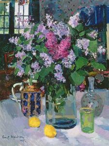 Lilacs, 1915 by Konstantin A^ Korovin