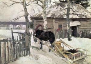 Winter, 1894 by Konstantin A. Korovin