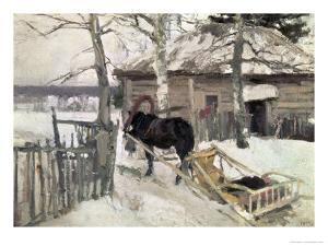 Winter, 1894 by Konstantin A^ Korovin