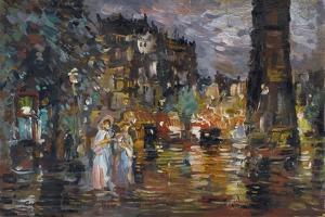 Paris by Konstantin Alexeyevich Korovin