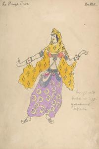Polovtsian Girl. Costume Design for the Opera Prince Igor, 1909 by Konstantin Alexeyevich Korovin