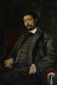 Portrait of the Opera Singer Angelo Masini (1844-192) by Konstantin Alexeyevich Korovin