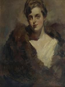 Portrait of the Opera Singer Vera Dorofeyeva by Konstantin Alexeyevich Korovin