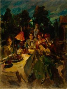 Southern Night by Konstantin Alexeyevich Korovin