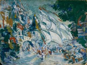 Stage Design for the Opera Sadko by N. Rimsky-Korsakov, 1906 by Konstantin Alexeyevich Korovin