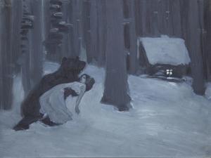 Tatyana's Dream by Konstantin Alexeyevich Korovin