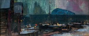 The Northern Lights in Norway, 1902 by Konstantin Alexeyevich Korovin