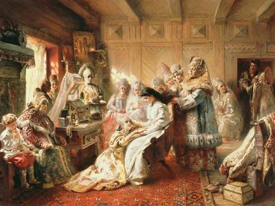 Before the Wedding, 1890