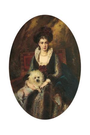Portrait of the Artist's Wife, Maria Alekseevna Makovskaya (Nee Matavtina)