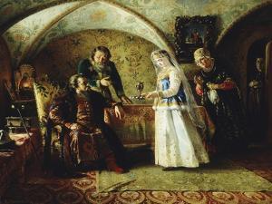 The Introduction, 1868 by Konstantin Egorovich Makovsky