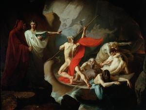 Charon Conveying the Souls of the Dead Across the Styx, 1860 by Konstantin Petrovich Pomerantsev
