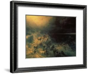The Flood by Konstantinovich Ivan Aiwassowskij