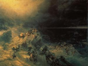 The Flood by Konstantinovich Ivan Aiwassowskij