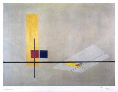 Konstruktion, 1922-23-Laszlo Moholy-Nagy-Art Print