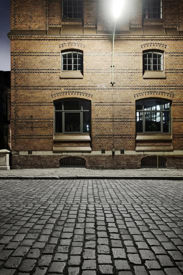 Kontor-House Architecture, Alter Wandrahm, Hamburg-Mitte-Axel Schmies-Photographic Print