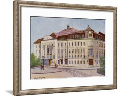 Konzerthaus in the Lothringerstrasse, Vienna--Framed Giclee Print