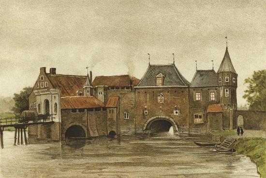 Koppelpoort, Amersfoort, Netherlands-Dutch School-Giclee Print
