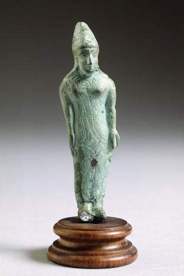 Kore in Bronze, from Fonte Veneziana, Arezzo--Photographic Print