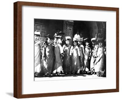Korean Girls, 1900--Framed Giclee Print
