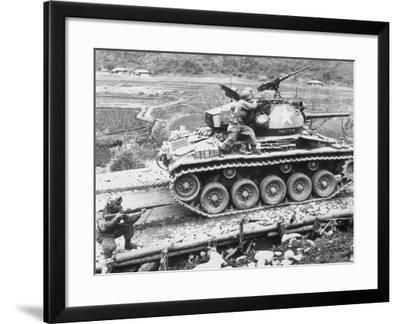 Korean War, 1951--Framed Photographic Print