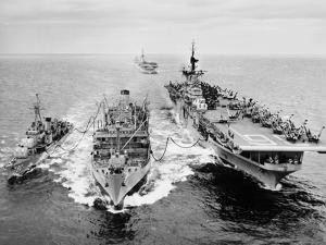 Korean War: Ship Refueling