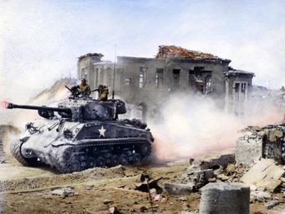 Korean War: Tank, 1951