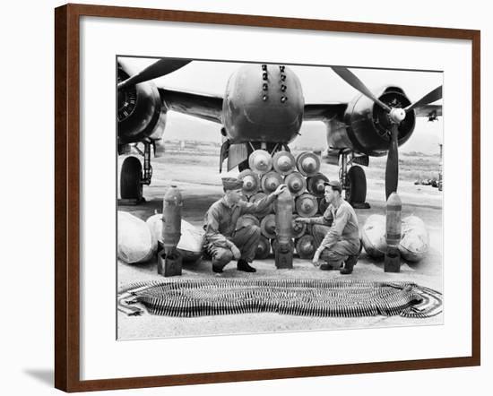 Korean War-Associated Press-Framed Photographic Print