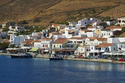 Korissia Harbour, Kea Island, Cyclades, Greek Islands, Greece, Europe-Tuul-Photographic Print