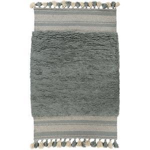 "Korva Area Rug - Moss/Light Gray 5' x 7'6"""