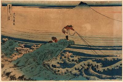 Koshu Kajikazawa-Katsushika Hokusai-Giclee Print