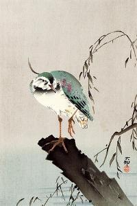 Green Heron by Koson Ohara