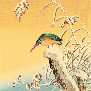 Kingfisher by Koson Ohara