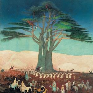 Pilgrimage To the Cedars of Lebanon by Kosztka Tivadar Csontv?ry