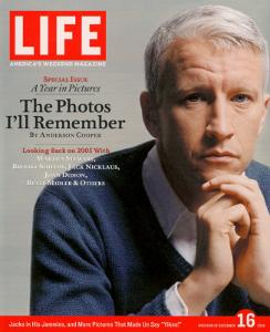 News Anchor Anderson Cooper, December 16, 2005 by Koto Bolofo