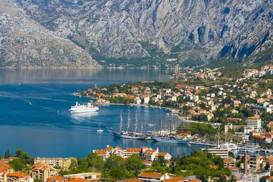 Kotor, Bay of Kotor, UNESCO World Heritage Site, Montenegro, Europe-Alan Copson-Photographic Print