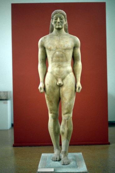 Kouros, C650-500 BC--Photographic Print