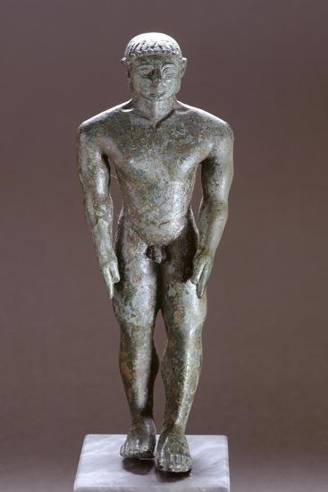 Kouros in Bronze, from Corinaldo--Giclee Print