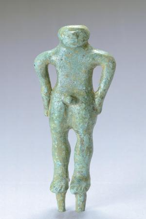 Kouros in Bronze, from Villa Cassarini, Bologna. Etruscan Civilization, Ca 500 BC.--Giclee Print