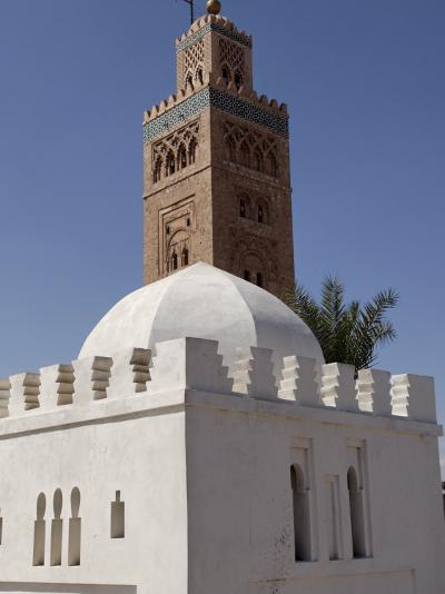 Koutoubia Minaret, Marrakesh, Morocco-De Mann Jean-Pierre-Photographic Print