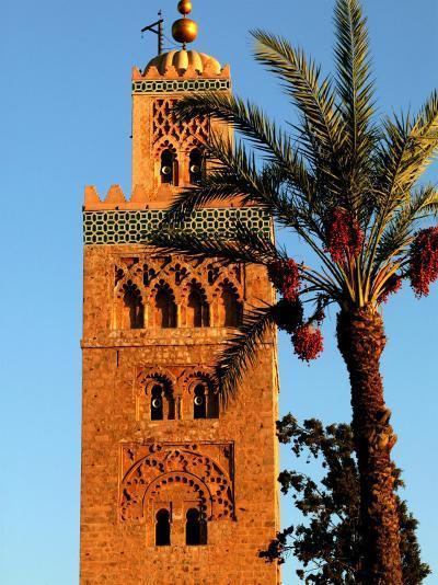 Koutoubia Mosque, Marrakesh, Morocco-Doug McKinlay-Photographic Print